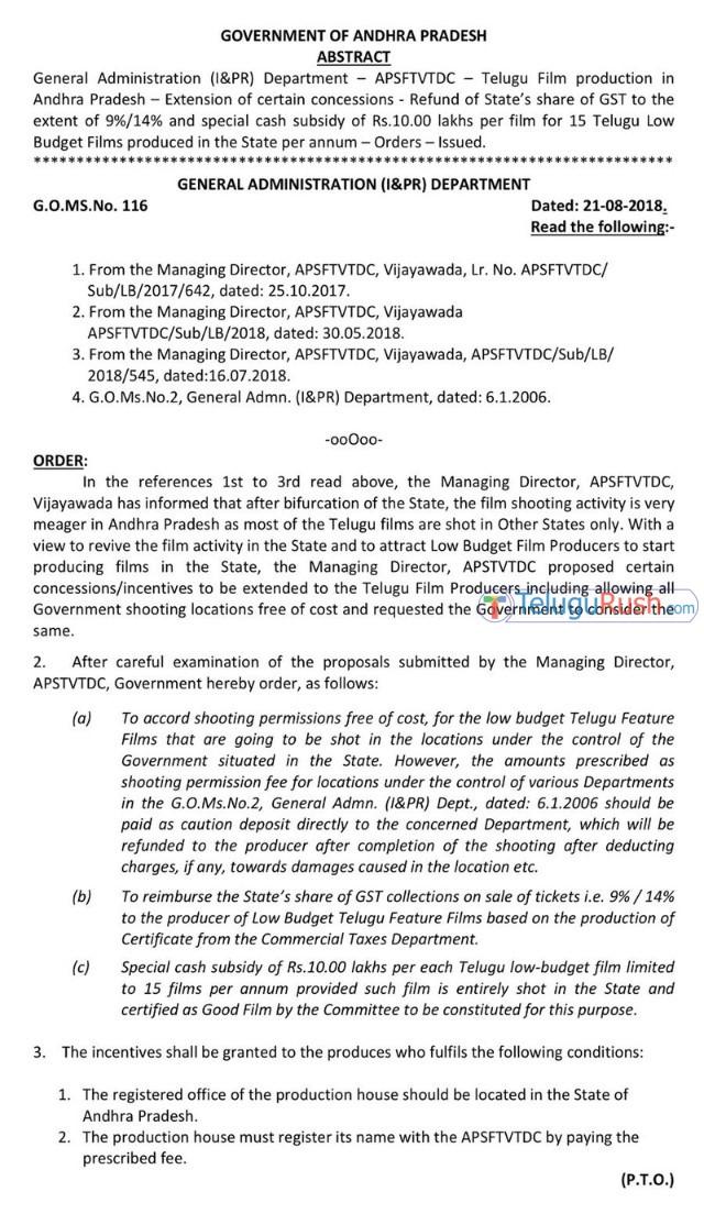 094 ap govt low budget films gst exemption 2
