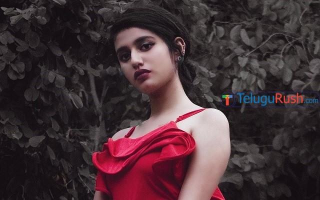 Priya Prakash Varrier excited about her Tollywood debut